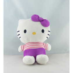 Doudou chat HELLO KITTY violet orange SANRIO LICENSE