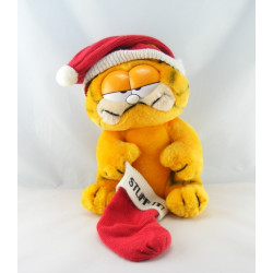 Ancienne Peluche chat orange Garfield 1978-1981