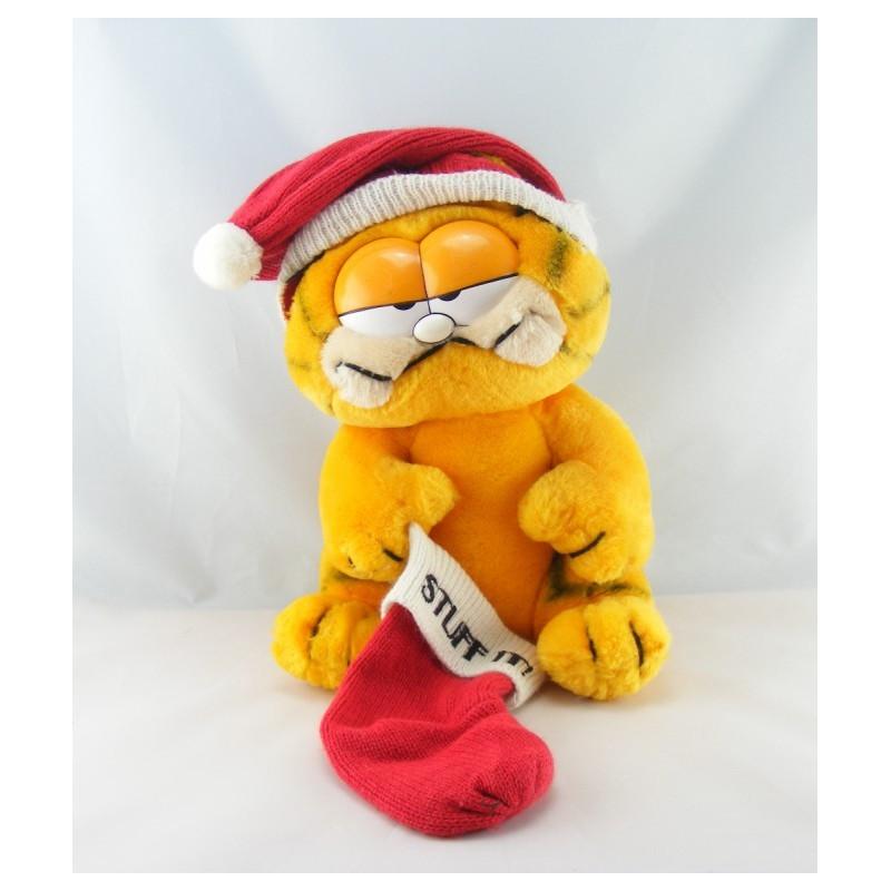 Ancienne Peluche chat orange Garfield 1978-1981