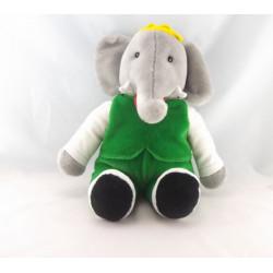 Peluche Babar l'éléphant GUND 1988