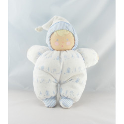 Doudou bébé poupée Baby Pouce blanc COROLLE 2001