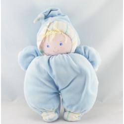 Doudou poupée bébé bleu BABI COROLLE