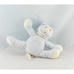 Doudou chat bleu cocard TEX