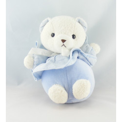 Doudou ours bleu NOUNOURS