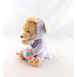 Doudou winnie l'ourson déguisé en Indien Collection DISNEY
