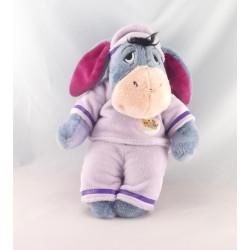 Doudou Bourriquet nid d'ange pyjama mauve Disney Nicotoy