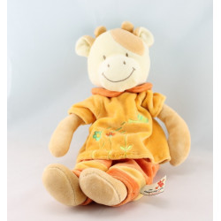 Doudou cochon orange arrosoir NICOTOY