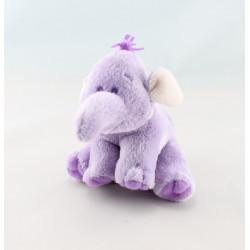 Doudou semi plat Eléphant mauve Lumpy Disney baby