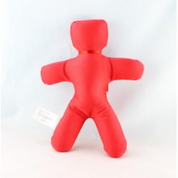 Doudou mascotte rouge OKAIDI