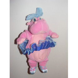 Doudou hippopotame rose danseuse Fantasia DISNEY