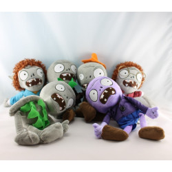 Peluche Plantes VS Zombies LINXIM lot de 7