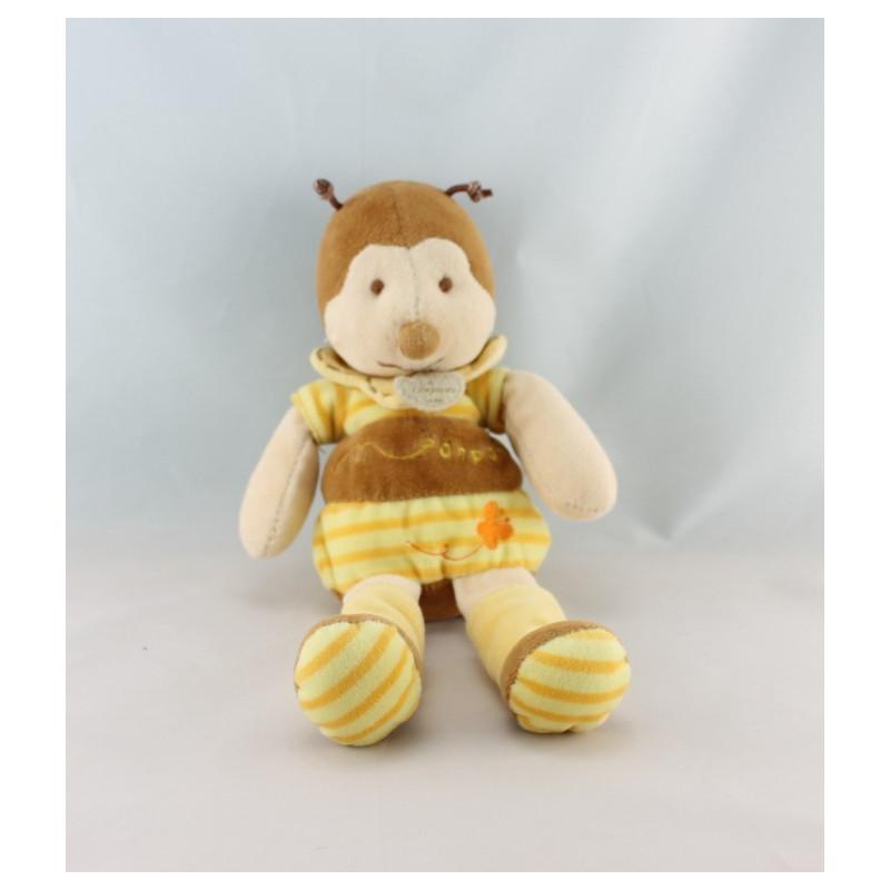 Doudou abeille bourdon Ponpon DOUDOU ET COMPAGNIE
