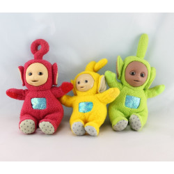 Peluches Teletubbies au complet Po Laa-laa Dipsy Tinky-Winky