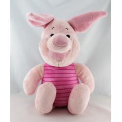 Grande peluche cochon Porcinet allongé DISNEY 75 cm