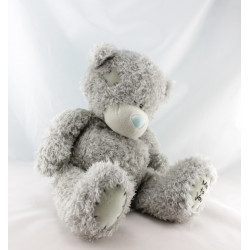 Doudou ours gris ME TO YOU 35 cm