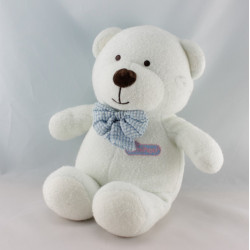 Doudou ours bleu Luminou JEMINI