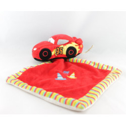 Peluche voiture rouge Cars McQueen DISNEY NICOTOY