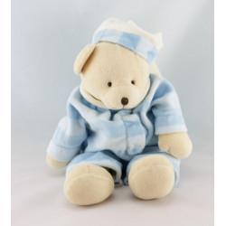 Doudou ours bleu CMP