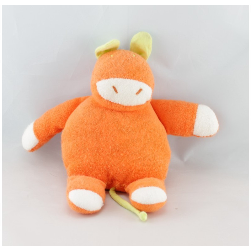 Doudou lion orange MARESE