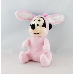 Doudou plat minnie rose pois DISNEY