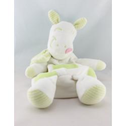 Doudou range pyjama cheval ane blanc rose SIPLEC