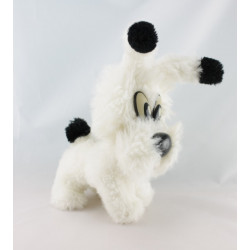Doudou peluche chien blanc Idéfix Parc ASTERIX