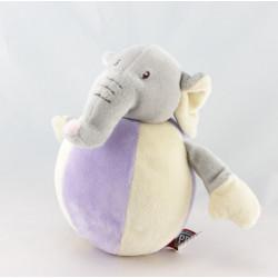 Doudou éléphant gris SIMPSON TRADING
