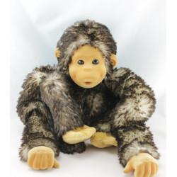 Doudou singe beige marron GIPSY