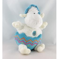 Doudou ours bleu GIPSY