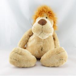 Doudou lion beige marron TRUDI