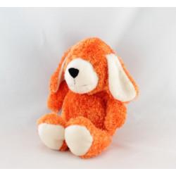 Doudou peluche chien rouge AJENA