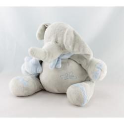 Doudou mouton blanc créme foulard PLAYKIDS