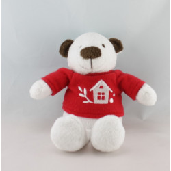 Doudou ours blanc YVES ROCHER 25 cm