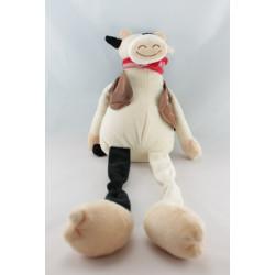 Doudou vache blanc noir sherif CREDIT AGRICOLE
