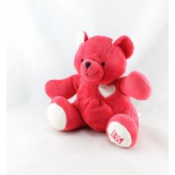 Doudou ours rouge BEAUTY SUCCESS 2007