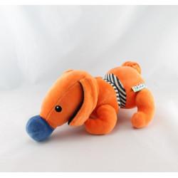 Doudou démontable chien orange K'S KIDS