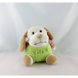 Doudou chien vert KING BEAR
