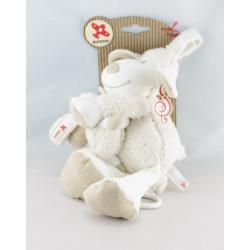 Doudou musical mouton blanc beige KIABI KITCHOUN NICOTOY