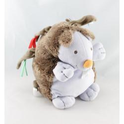 Doudou chien blanc beige HAPPY HORSE