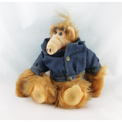 Ancienne Peluche Extra-terrestre ALF BULLY 1987 en chemise