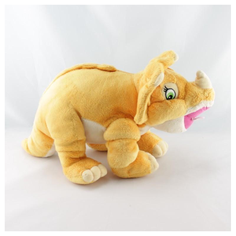 Peluche Dinosaure Tricérops Céra amie de Petit Pied GIPSY