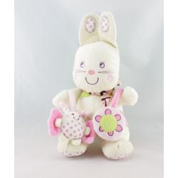 Doudou lapin blanc My Baby NICOTOY
