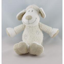 Doudou mouton blanc beige KIABI KITCHOUN NICOTOY