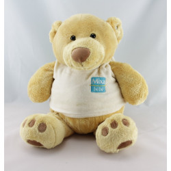 Doudou ours beige BABIES'RUS ANIMAL ALLEY