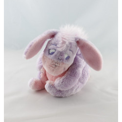 Doudou bébé Bourriquet mauve parme blanc Disney