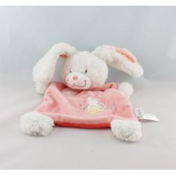 Doudou lapin rose TEX 15 cm
