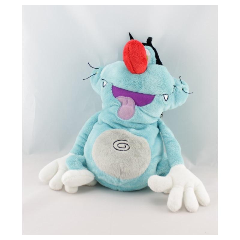 Doudou Chat bleu Oggy et les cafard JEMINI