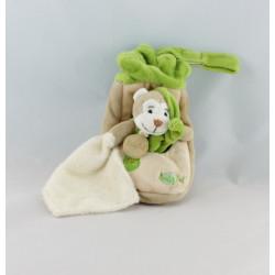 Doudou canard oie rose Baby nat