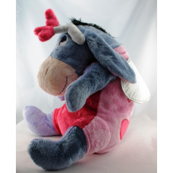 Grand Doudou peluche Bourriquet l'ami de Winnie Disney Nicotoy