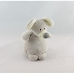 Mini Doudou souris grise jaune capuche IKEA